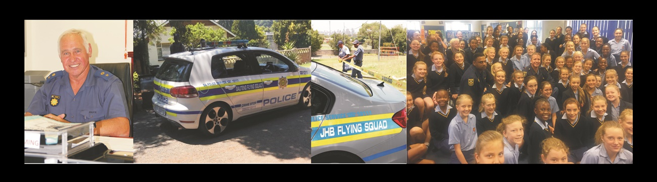 Members of Flying Squads often arrive first at crime scenes to confront dangerous criminals. This month we pay tribute to the hardworking heroes of the Johannesburg Flying Squad and introduce their commander. Refer to the article from p 50 in Servamus: February 2018.