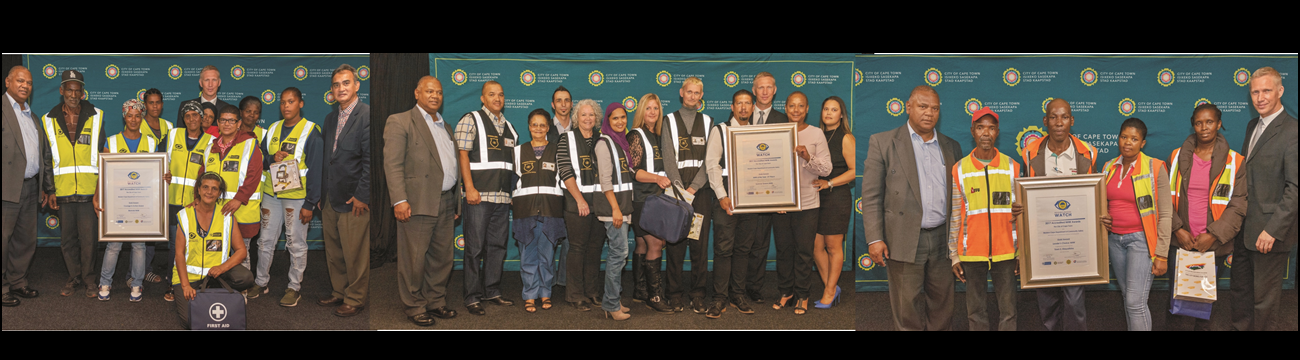 On 26 March 2018, the Western Cape Department of Community Safety and the City of Cape Town recognised the top Neighbourhood Watch structures in the Cape Town Metropole for their contribution to fight crime. Read the article in Servamus: May 2018 from pp 46-49.